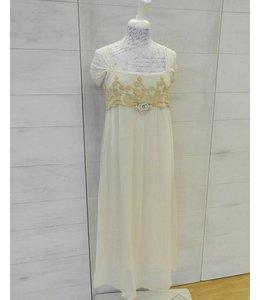 Elisa Cavaletti Langes Kleid beige