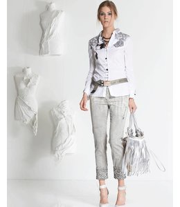 Elisa Cavaletti Jeans grau verwaschen