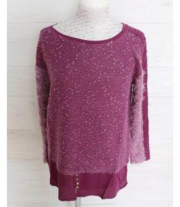 Elisa Cavaletti Langes Shirt violett