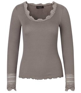 Rosemunde Long-sleeved shirt taupe