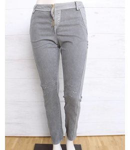 Elisa Cavaletti Jeans gris délavé