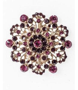 Elisa Cavaletti Bijou orné de perles mauves et violettes