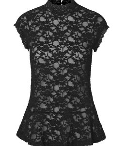 Rosemunde Spitzenshirt schwarz