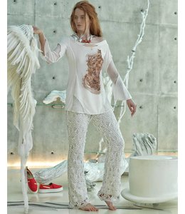 Elisa Cavaletti T-Shirt ecru