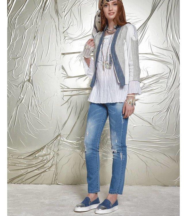 Elisa Cavaletti Basic-Jeans denim blue