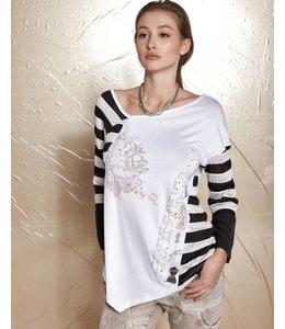 Elisa Cavaletti Shirt black-white