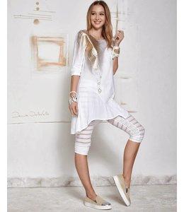 Elisa Cavaletti Flacher Schuh beige