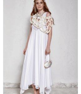 Elisa Cavaletti Longue robe blanche