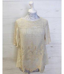 Elisa Cavaletti Beige shirt