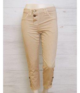 Elisa Cavaletti 7/8 trousers beige