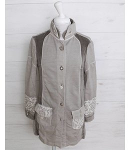 ArtePura Long jacket taupe