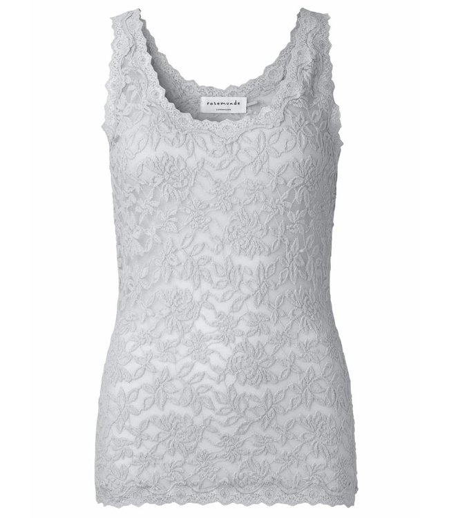Rosemunde Lace top silver grey