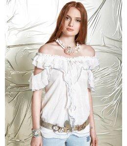 Elisa Cavaletti Romantic shirt-blouse white