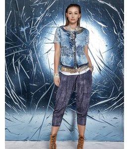 Elisa Cavaletti Kurze Jeansblusen-Jacke