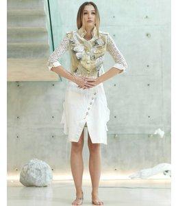 Elisa Cavaletti Skirt ecru