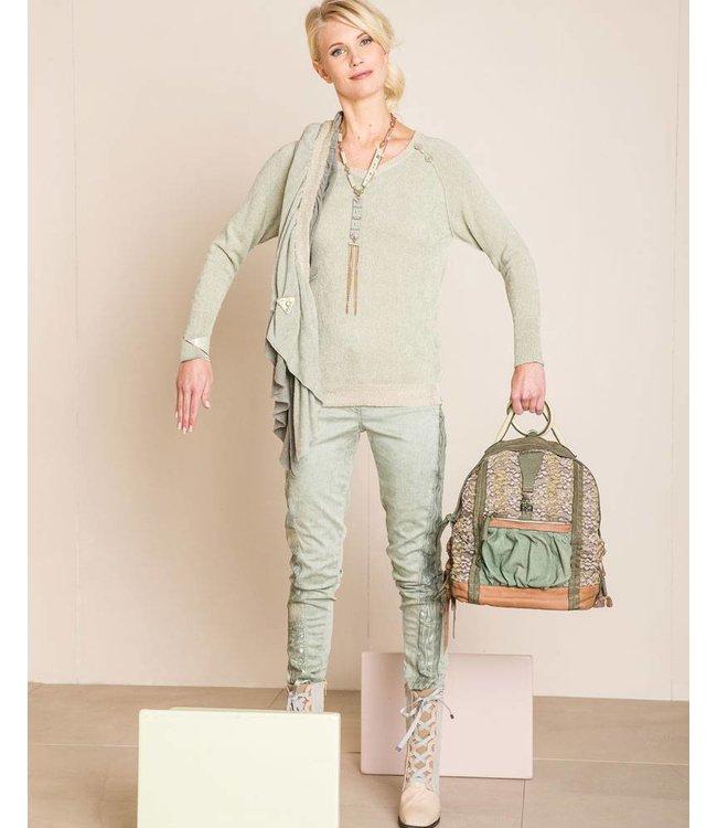 Elisa Cavaletti Pullover hellgrün