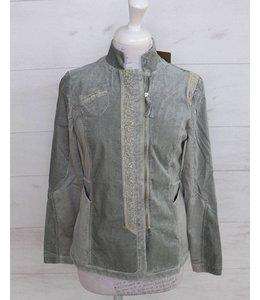 Elisa Cavaletti Jacket silver grey