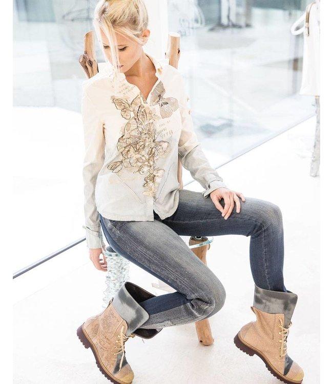 Elisa Cavaletti Jeans verwaschen