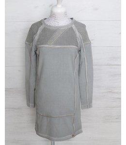 Elisa Cavaletti Robe-Tunique gris argent