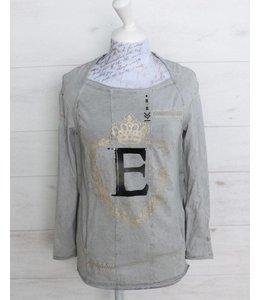 Elisa Cavaletti T-shirt gris délavé