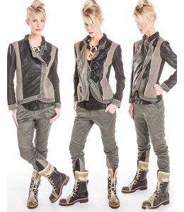 Elisa Cavaletti Jacke schwarz-grün