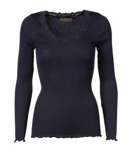 Rosemunde Long-sleeved shirt dark blue