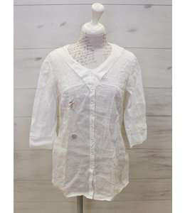 Elisa Cavaletti Long blouse white