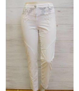 Elisa Cavaletti Pantalon Bianco