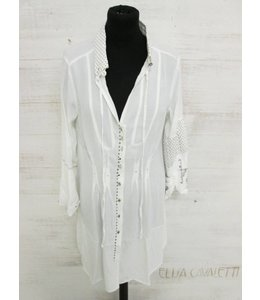 Elly Italia Long blouse Naturale