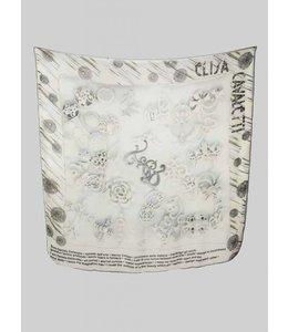 Elisa Cavaletti Silk scarf St. Smalti