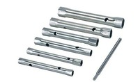 Silverline 6-delige metrische pijpsleutel set 8 - 19 mm