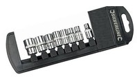 "Silverline 8-delige 1/4"" metrische doppen set 5 - 13 mm"