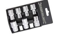 Silverline 1/2 Dopen Set Metriek 7 delig 10 - 19 mm