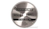 Silverline TCT fineer cirkelzaagblad, 100 tanden 300 x 30 - 25,20 en 16 mm ringen