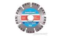 Silverline Lasergelast diamant zaagblad Turbo Rim