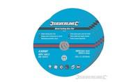 Silverline Platte metalen slijpschijven 5 st. 230 tot 350mm