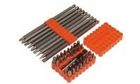 Silverline 42-delige schroevendraaier bit set in doos