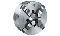 Bison Zelfcentrerende Vier-Klauwplaat, staal, type 3704, DIN 6350 Artikelgroep 85.510