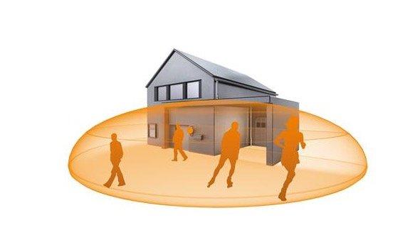 steinel design sensor buitenlamp l 800 led ihf mzs gereedschap slijpservive. Black Bedroom Furniture Sets. Home Design Ideas