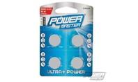 Power master Lithium knoopcel batterij CR2016, 4 pk.