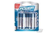 Power master Type D super alkaline batterij LR20, 2 pk.