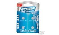 Power master Alkaline knoopcel batterij LR44, 4 pk.