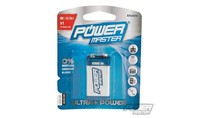 Power master 9 V super alkaline batterij 6LR1