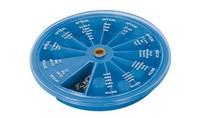 Silverline 120-delig horloge en bril schroef 120 delig assortiment
