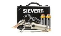 Sievert Set Soldeerbout etc. in metalen kistje