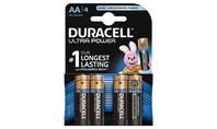 Duracell Alkaline Ultra Power AA 4st.