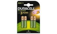 Duracell Oplaadbare Batterijen Plus AAA 4st.