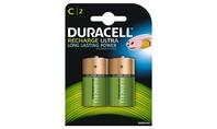 Duracell Oplaadbare Batterijen Ultra C 2st.