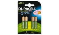 Duracell Oplaadbare Batterijen Ultra AAA 4st.