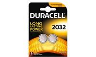Duracell Knoopcelbatterijen 2032 2st.